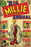 Marvel Comics Retro: Millie the Model Comic Book Cover No.1, the Big Annual (aged) Plakát