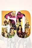 X-Factor No.50 Cover: Madrox, Stong Guy, Monet, Siryn and Longshot Prints by David Yardin