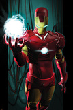 Ultimate Comics Ultimates No.3 Cover: Iron Man with Energy Poster by Kaare Andrews