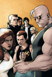 X-Factor No.20 Cover: Madrox, Strong Guy, Wolfsbane, Siryn, Rictor, M, Miller and Layla Posters by Khoi Pham