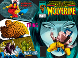 Marvel Comics Presents No.3 Cover: Wolverine, Marvel Comics and Thor Crouching Prints by John Buscema