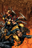 X-Factor No.26 Cover: Wolverine and X-23 Posters by David Finch