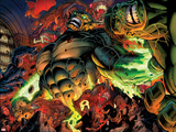 Incredible Hulks No.618: Abomination Fighting Prints by Paul Pelletier