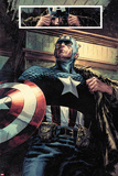 Captain America: Patriot No.1: Captain America Standing Poster by Mitchell Breitweiser