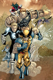 X-Men No.163 Group: Wolverine, Havok, Juggernaut and X-Men Photo by Salvador Larroca