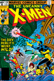 George Perez - Uncanny X-Men No.128 Cover: Wolverine, Colossus, Grey, Jean, Cyclops, Nightcrawler and X-Men Fotky