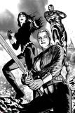 Hulk of Arabia Ashcan No.1: Valkyrie, Black Widow, and War Machine Prints by Patrick Zircher