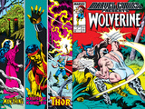 Marvel Comics Presents No.4 Cover: Wolverine, Razorfist, Marvel Babies and Spider-Man Fighting Posters by John Buscema