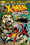 Marvel Comics Retro: The X-Men Comic Book Cover No.94, Colossus, Nightcrawler, Cyclops (aged) Print