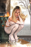 Emma Frost No.7 Cover: Emma Frost Charging Photo