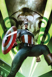 Captain America: Hail Hydra No.1 Cover: Captain America Posing with a Shield Photo by Adi Granov