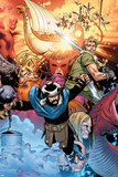 Thor: Tales of Asgard By Stan Lee & Jack Kirby No.4 Cover: Hogun, Fandral and Volstagg Prints by Olivier Coipel