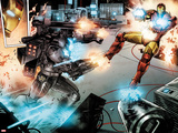 Iron Man: Rapture No.3: War Machine and Iron Man Shooting Posters by Lan Medina