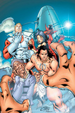 Alpha Flight No.3 Cover: Alpha Flight Fotografia por Clayton Henry