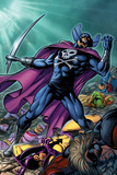 Chaos War: Dead Avengers No.2 Cover: Grim Reaper Screaming Prints by Tom Grummett