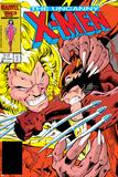 Uncanny X-Men No.213 Cover: Sabretooth and Wolverine Posters par Alan Davis