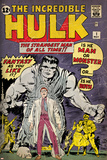 Marvel Comics Retro: The Incredible Hulk Comic Book Cover No.1, with Bruce Banner (aged) Plakaty