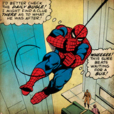 Marvel Comics Retro: The Amazing Spider-Man Comic Panel (Retro-Look) Foto