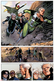 Avengers: The Childrens Crusade No.4: Panels with Quicksilver and Speed Posters by Jim Cheung