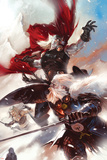 Thor: Man Of War No.1 Cover: Thor and Odin Print
