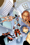 Alpha Flight 4 Cover: Alpha Flight Pôsters por Clayton Henry