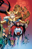 Thor: Tales of Asgard by Stan Lee & Jack Kirby No.6 Cover: Sif and Odin Poster by Olivier Coipel