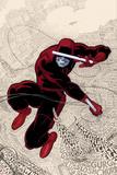 Paolo Rivera - Daredevil No.1 Cover: Daredevl Jumping amidst Sounds Plakát