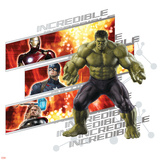 The Avengers: Age of Ultron - Incredible Hulk, Iron Man, Captain America, and Thor Prints