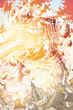 S.H.I.E.L.D. No.3: Gallactus in Explosion of Energy Posters by Dustin Weaver