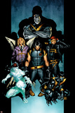 Ultimate X-Men No.61 Cover: Wolverine, Colossus, Nightcrawler, Iceman, Cyclops, Angel and X-Men Posters by Stuart Immonen