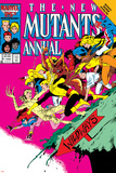 New Mutants Annual No.2 Cover: Magik Prints by Alan Davis