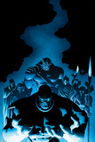 New Avengers 9 Cover: Thanos, Proxima Midnight, Corvus Glaive, Black Dwarf, Supergiant, Ebony Maw Prints by Mike Deodato