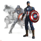 The Avengers: Age of Ultron - Captain America Kunstdrucke