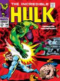Marvel Comics Retro: The Incredible Hulk Comic Book Cover No.108, with Nick Fury Prints
