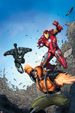 Iron Man: the Coming of the Melter 1: Iron Man, War Machine, Melter Prints by Ron Lim