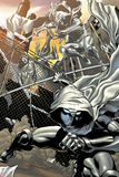 Heroes for Hire No.3: Moon Knight Jumping Prints by Brad Walker