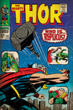 Marvel Comics Retro: The Mighty Thor Comic Book Cover No.141, Who is Replicus (aged) Poster