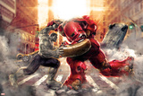 The Avengers: Age of Ultron - Hulk Fights Hulkbuster Póster