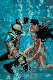 Wolverine No.21 Cover: Wolverine and Elektra Prints by John Romita Jr.