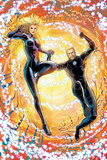 Fantastic Four No.603: Franklin and Valeria Richards Flying Print by Barry Kitson