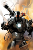 Iron Man 2.0 No.1 Cover: War Machine Affischer av Salvador Larroca