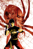 Spider-Island: Deadly Hands of Kung Fu No.1 Cover: Shang-Chi Posing Photo by Sebastian Fiumara