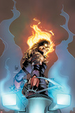 Ghost Rider No.3 Cover:  Ghost Rider Looking over his Shoulder Posters by Adam Kubert