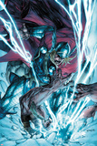 Thor: The Deviants Saga No.3 Cover: Thor Fighting and Smashing Photo by Stephen Segovia