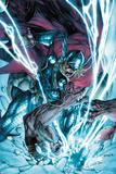 Thor: The Deviants Saga No.3 Cover: Thor Fighting and Smashing Photo by Stephen Segovia