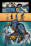 Origins of Marvel Comics: X-Men No.1: Beast Running Prints by Salvador Espin