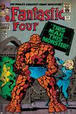 Marvel Comics Retro: Fantastic Four Family Comic Book Cover No.51 (aged) Posters