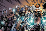 X-Men Evolutions No.1: Storm Reprodukcje autor David Yardin