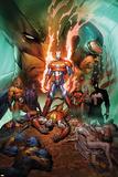 Dark Avengers/Uncanny X-Men: Utopia No.1 Cover: Iron Patriot Póster por Marc Silvestri