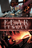Fear Itself No.5 Cover: Iron Man and Thor Smashing Posters by Steve MCNiven